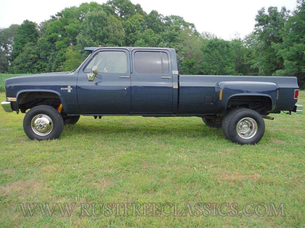 1986 86 Chevrolet Chevy K30 1 one ton 4x4 Four Wheel Drive Crew ...